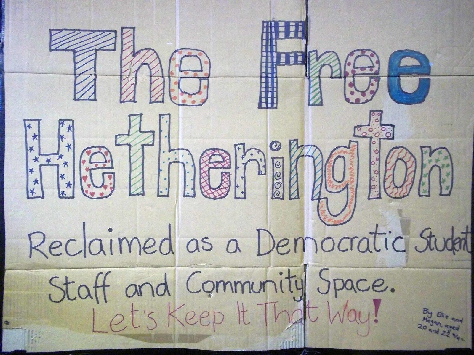 Hetherington Occupation Poster